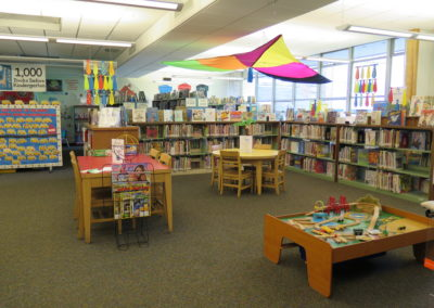 Children's area.