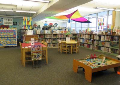 Children's area.