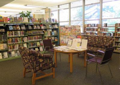 Reading area.